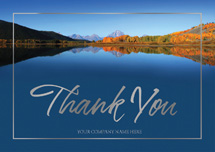 Majestic Serenity Thank You Cards