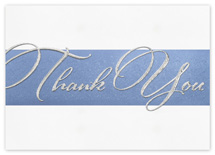 Sterling Gratitude Thank You Cards